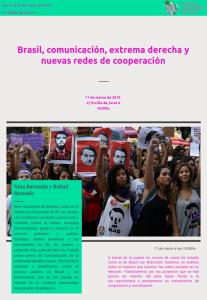 Ciclo sobre feminismo, auge de la derecha y datos @ Espacio M129