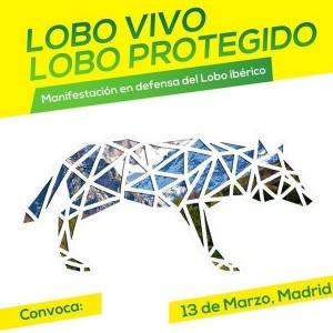 Manifestación en defensa del lobo ibérico @ Madrid | Madrid | Comunidad de Madrid | España
