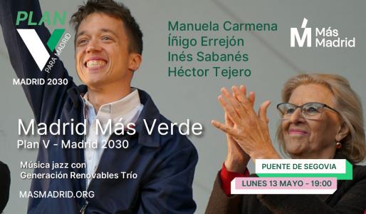 Con V de Verde @ Puente de Segovia