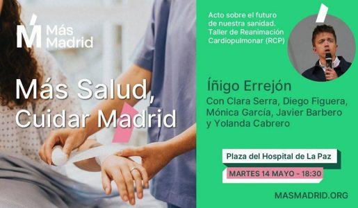 Más Salud cuidar Madrid @ Plaza del Hospital La Paz