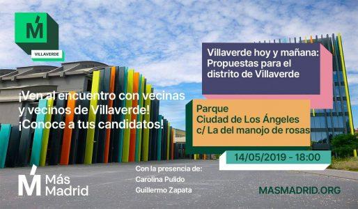 +Madrid Villaverde @ C/ la del Manojo de rosas
