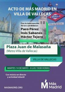 +Madrid Villa de Vallecas @ Plaza Juan de Malasaña, 28031 Madrid, España