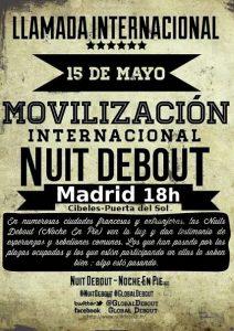 15m Global Debout Madrid