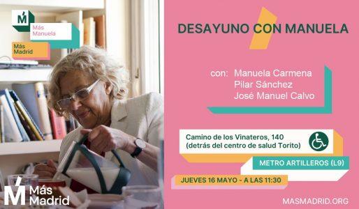 Desayuno con Manuela @ Camino de los Vinatoeros 140