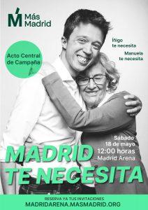 Acto central de campaña @ Madrid Arena