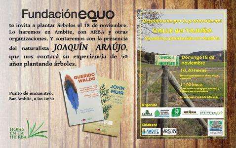 Plantación de árboles en Ambite con ARBA y Joaquín Araújo @ Bar Ambite | Ambite | Comunidad de Madrid | España