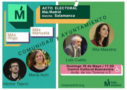 +Madrid Salamanca @ Centro Cultural Buenavista
