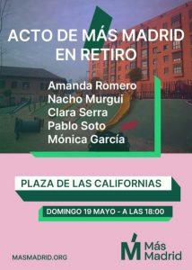 +Madrid Retiro @ Plaza de las Californias, Madrid