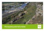 Reivindicamos más medidas de gestión y protección de los parques naturales de la Comunidad