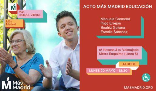 +Madrid Educación @ Calle Illescas esq Calle Valmojado