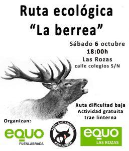 Ruta ecológica 'La berrea' @ Calle Colegios, s/n, Las Rozas | Comunidad de Madrid | España