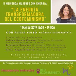 La energía transformadora del Ecofeminismo @ Fundación Entredós