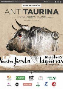Concentración Antitaurina en Torrejón de Ardoz @ Junto a la Plaza de toros de Torrejón de Ardoz | Torrejón de Ardoz | Comunidad de Madrid | España