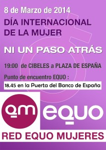8 marzo CARTEL DiaINTER-RED-MUJER-EQUO