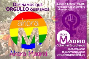 AM Encuentro Colectivos LGTBI