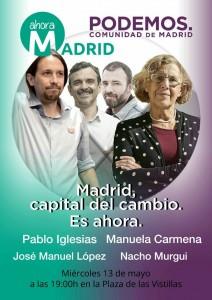 Acto Central Podemos AM 13_05