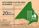 Acto unitario contra la Ley del Suelo de de la Comunidad de Madrid y el modelo urbanístico del Partido Popular