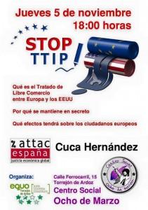 Acto TTIP en Torrejon