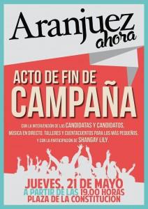 Aranjuez Ahora Cierre Campaña