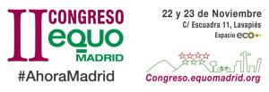 II Congreso EQUO Madrid