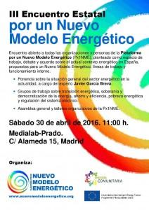 III Encuentro Estatal por un Nuevo Modelo Energético @ Medialab-Prado | Madrid | Comunidad de Madrid | España