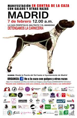CARTEL MADRID - Convocatoria NAC feb 2016