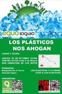 Equoloquio: 'Los plásticos nos ahogan' @ Centro Actúa de San Sebastian de los Reyes | San Sebastián de los Reyes | Comunidad de Madrid | España
