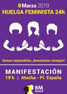 Manifestación y Huelga 8 de Marzo @ Explanada de Caixaforum