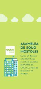Asamblea de Móstoles @ Local asociativo Rompe el Círculo