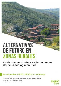 Jornada: Alternativas de futuro en zonas rurales @ Centro de Humanidades de La Cabrera | La Cabrera | Comunidad de Madrid | España