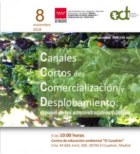 Jornada 'Canales cortos de comercialización y despoblación' @ Centro de educación ambiental 'El Cuadrón' | El Cuadrón, Garganta de los Montes | España