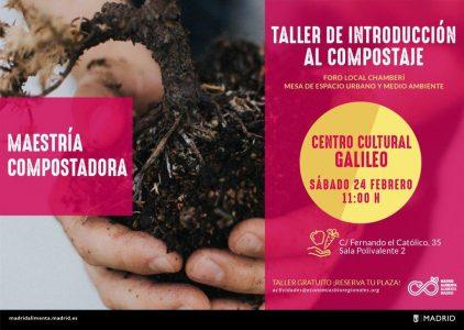 Chamberí - Taller de introducción al compostaje @ Centro Cultural Galileo | Madrid | Comunidad de Madrid | España