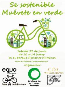 Se sostenible, muévete en verde en Fuenlabrada @ Parque derechos humanos | Fuenlabrada | Comunidad de Madrid | España