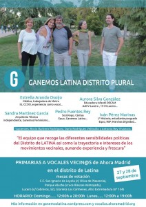 Lista Ganemos Latina Plural