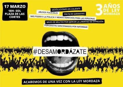 Manifestación contra la Ley Mordaza @ Puerta del Sol | Madrid | Comunidad de Madrid | España