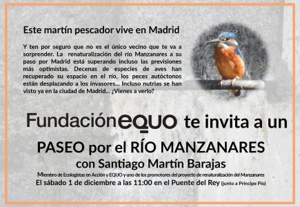 Paseo por el río Manzanares con Santiago Martín Barajas @ Puente del Rey | Madrid | Comunidad de Madrid | España