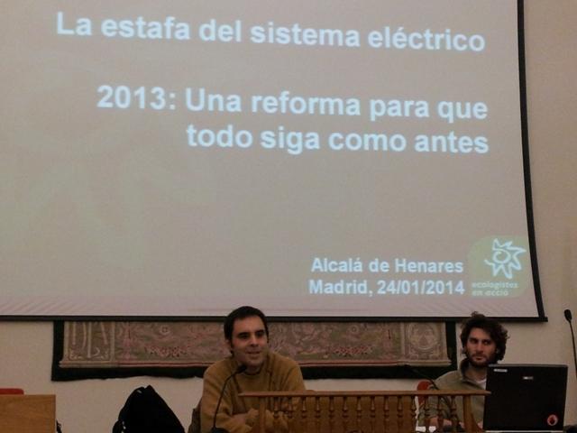 Charla Mercado electrico