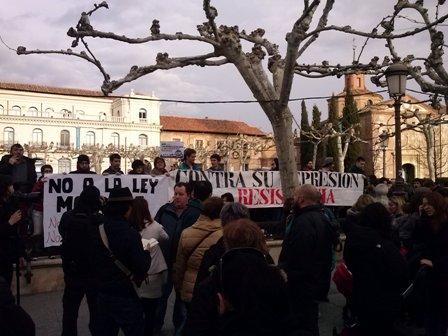 Concentracion contra represion policial-Foto 2
