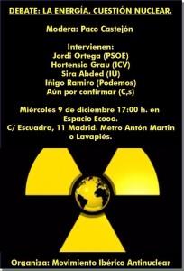 Debate energía nuclear
