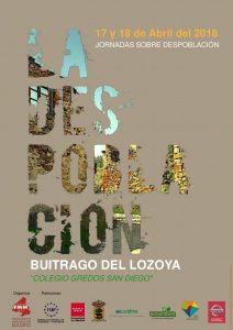 Jornadas sobre despoblación en la Comunidad de Madrid @ Colegio Gredos San Diego | Buitrago del Lozoya | Comunidad de Madrid | España