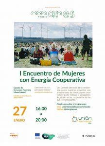 I Encuentro de Mujeres con Energía Cooperativa @ Espacio de Encuentro Feminista | Madrid | Comunidad de Madrid | España