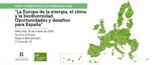 Europa de la energía, el clima y la biodiversidad