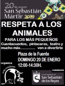 Talleres y actividades infantiles 'Respeta a los animales' en Sanse @ Plaza de la Fuente, Sanse | Ciudalcampo | Comunidad de Madrid | España