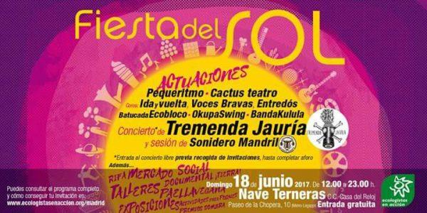Fiesta del Sol @ Nave de Terneras | Madrid | Comunidad de Madrid | España
