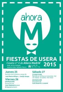 Ahora Madrid en las fiestas de USERA @ parque de pradolongo, madrid   Madrid   Comunidad de Madrid   España