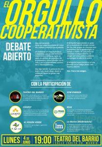 Debate abierto: 'El Orgullo Cooperativista' @ Teatro de Barrio | Madrid | Comunidad de Madrid | España