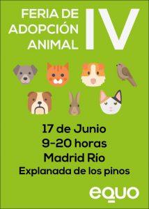 EQUO Madrid - IV Feria de Adopción Animal @ Explanada de los Pinos   Madrid   Comunidad de Madrid   España