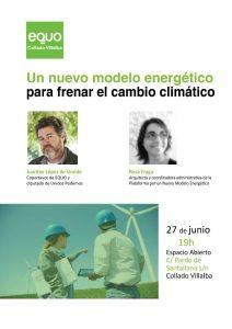 Jornada 'Un nuevo modelo energético para frenar el cambio climático' @ Espacio Abierto | Collado Villalba | Comunidad de Madrid | España