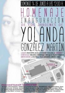 Inauguracion Jardines Yolanda Gonzalez