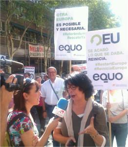 Ines Sabanés, coportavoz de EQUO Madrid